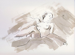Naturist Art Drawing
